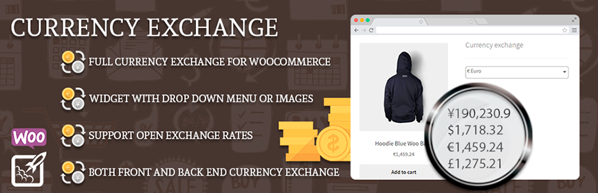 WooCommerce Currency Exchange