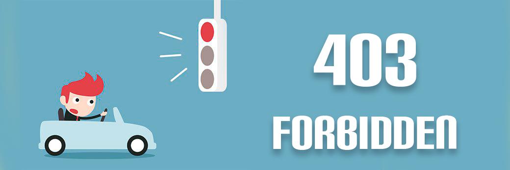 fix server error 403-forbidden access denied