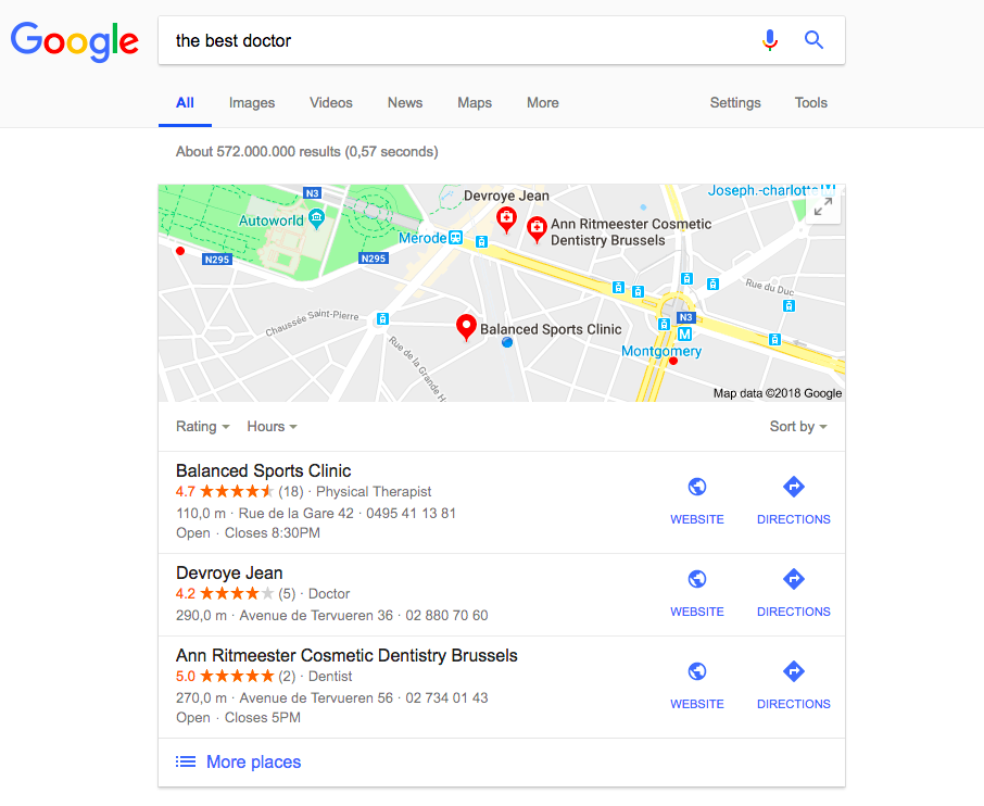 google-shows-nearby-locations