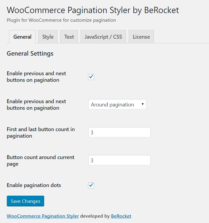 Styling the site pagination, how important is it? - BeRocket
