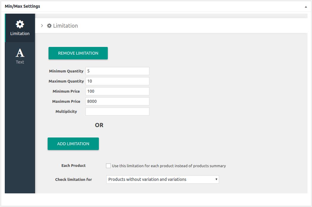 WooCommerce Min/Max Quantity Documentation - BeRocket