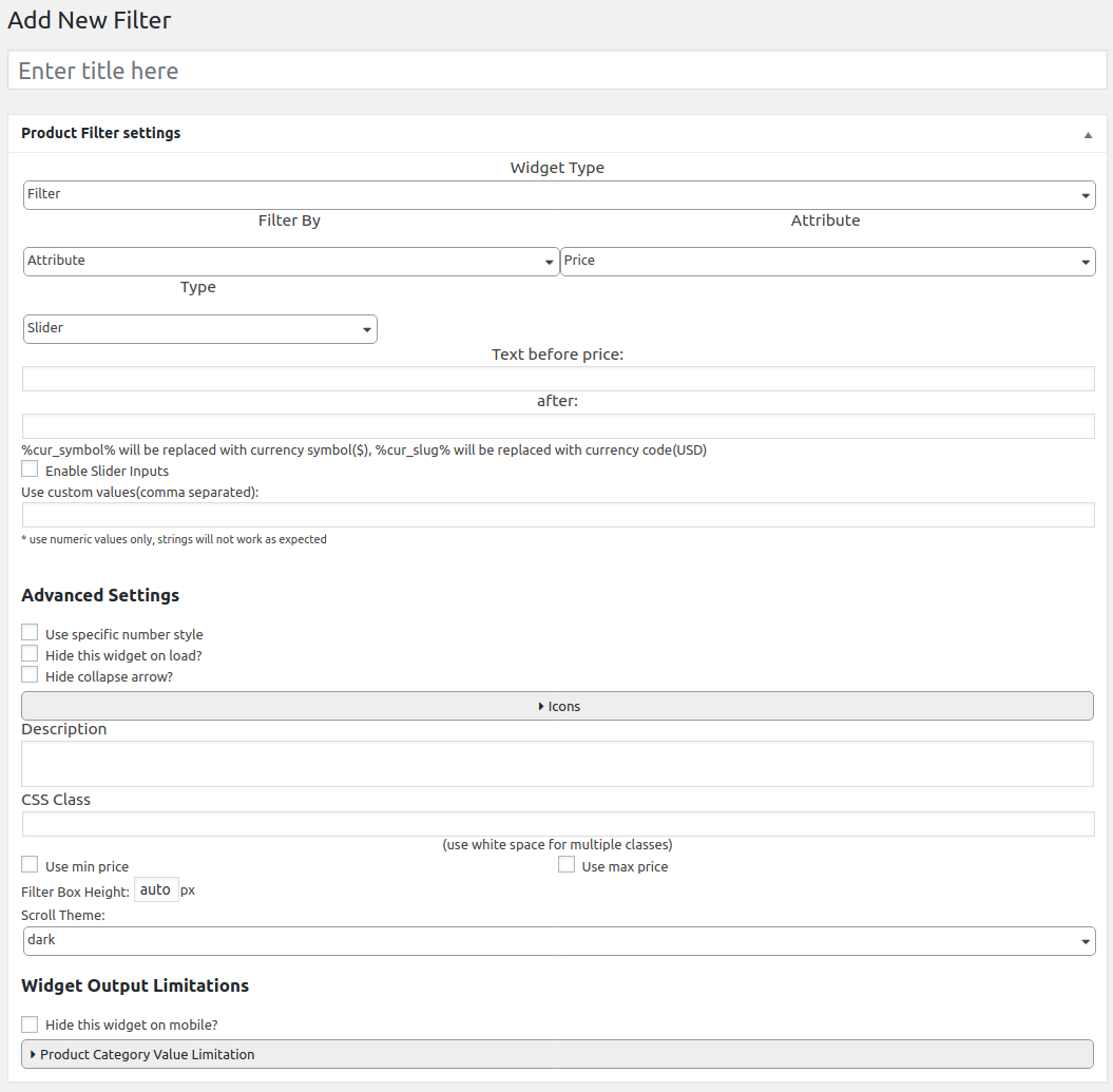 WooCommerce AJAX Products Filter Documentation - BeRocket